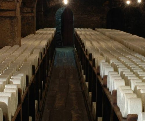 Roquefort cheese cave