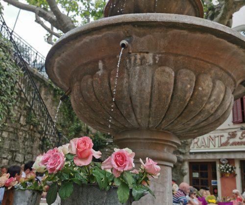 Seillans fountains